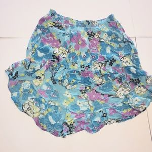 Candies floral high low skirt